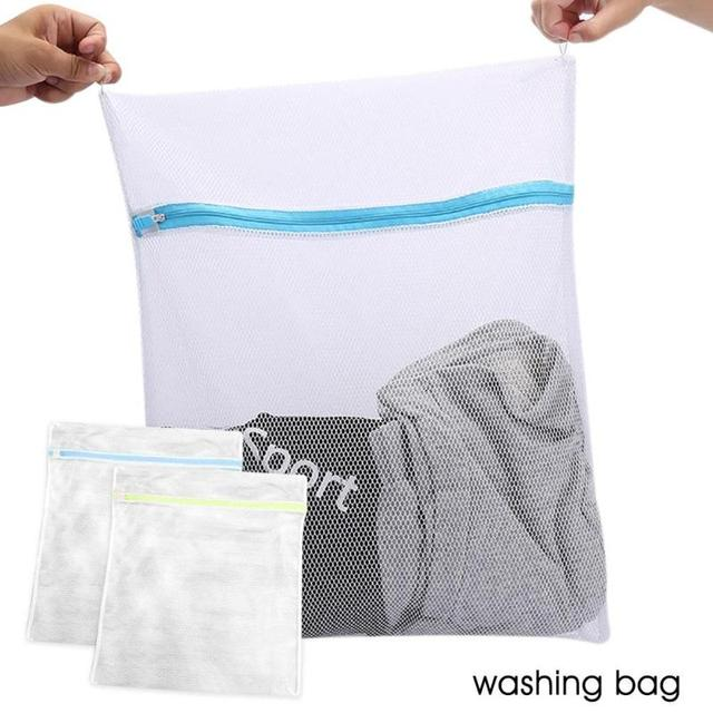 Clothes Bra Underwear Washing Bag Laundry Basket Wash Storage Pouch Mesh Net For