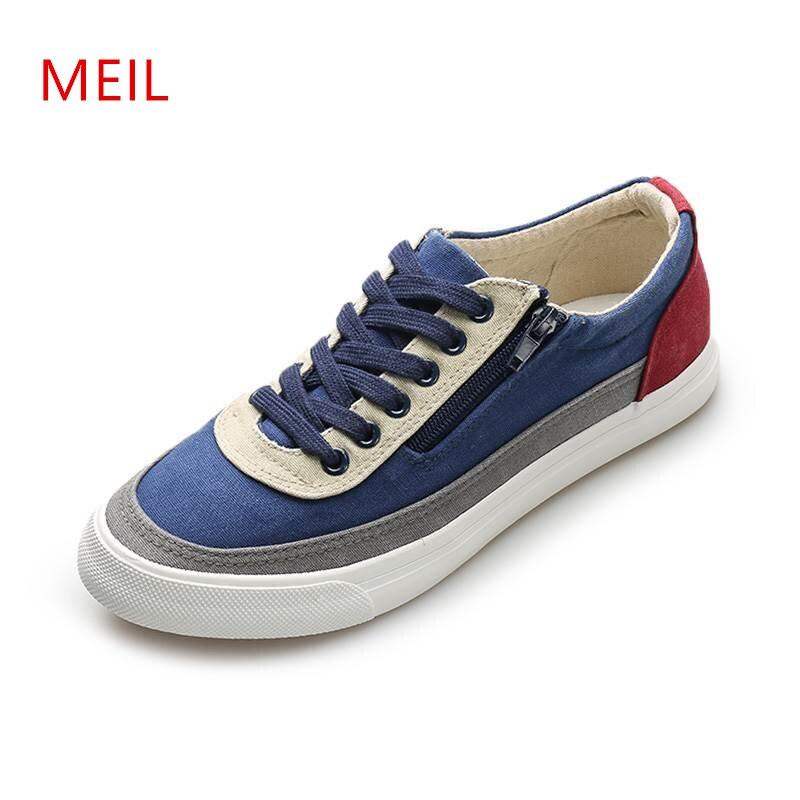 Man Casual Canvas Breathable Shoes Men 2018 Fashion Mens Shoes Casual Classic Men's Canvas Shoes for Men Wear resistant Shoe