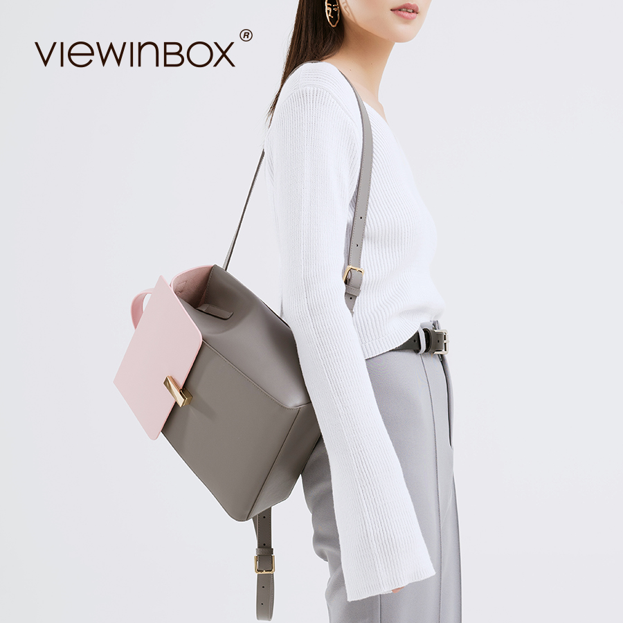 Viewinbox Women's Backpacks Split Leather Students School Bags Teenagers Girls Small Backpacks Women Mochila Bolsas Femininas 2017 new women leather backpacks students school bags for girls teenagers travel rucksack mochila candy color small shoulder bag