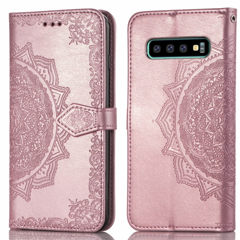 S10 Leather Case for Samsung Galaxy S10 Plus PU Leather Case for Samsung Galaxy S10e S7 Edge s8 s9 plus Note 9 Note 8 Flip Cover
