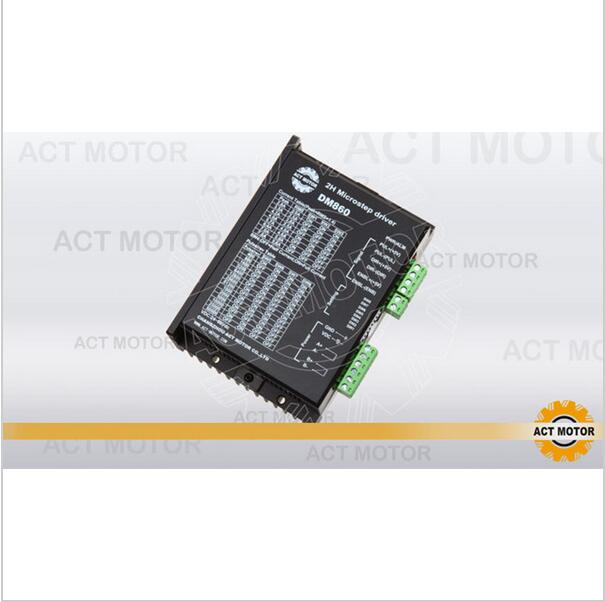 цена на Top Quality! ACT Stepper Motor Driver DM860 80V 7.8A 256Microsteps for Nema34 Stepper Motor CNC Router Mill Engraving Printer