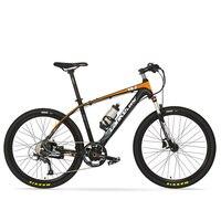 26inch Electric ebike power assist bike MTB torque sensor 6 Gear booster 9 speed oil spring fork electric mountian PAS bike