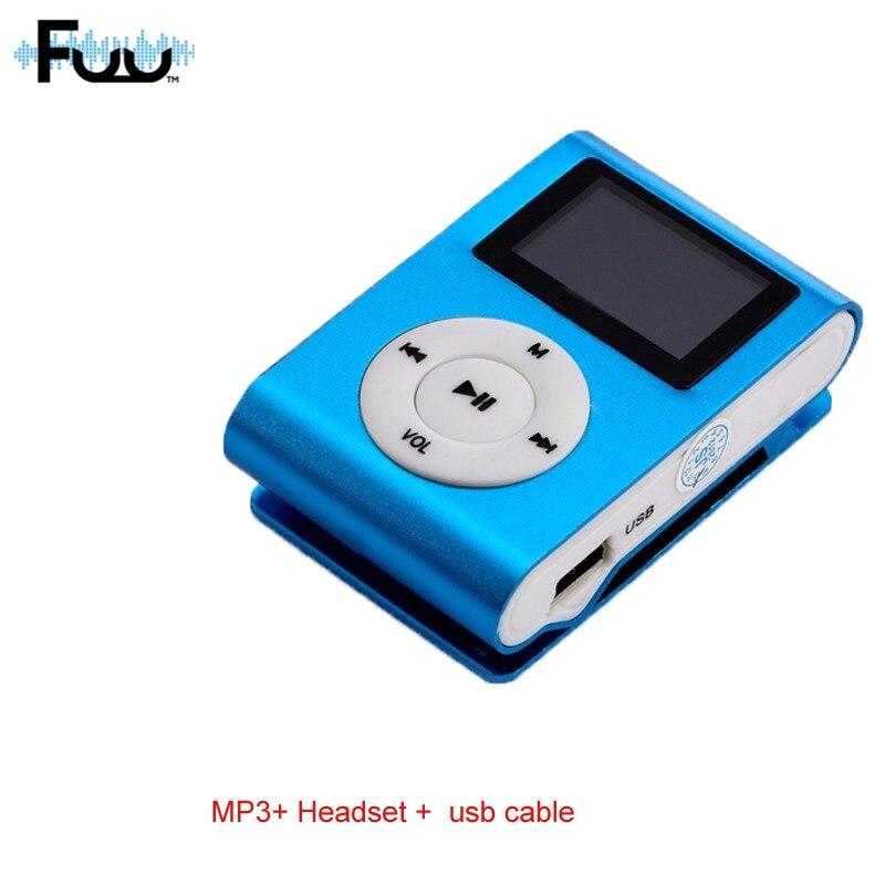Mini sport USB mp3 player Clip music player walkman 8-256GB TF Memory card Lot