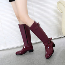 5497c8ee7018 Buy wedge rain boots for women and get free shipping on AliExpress.com