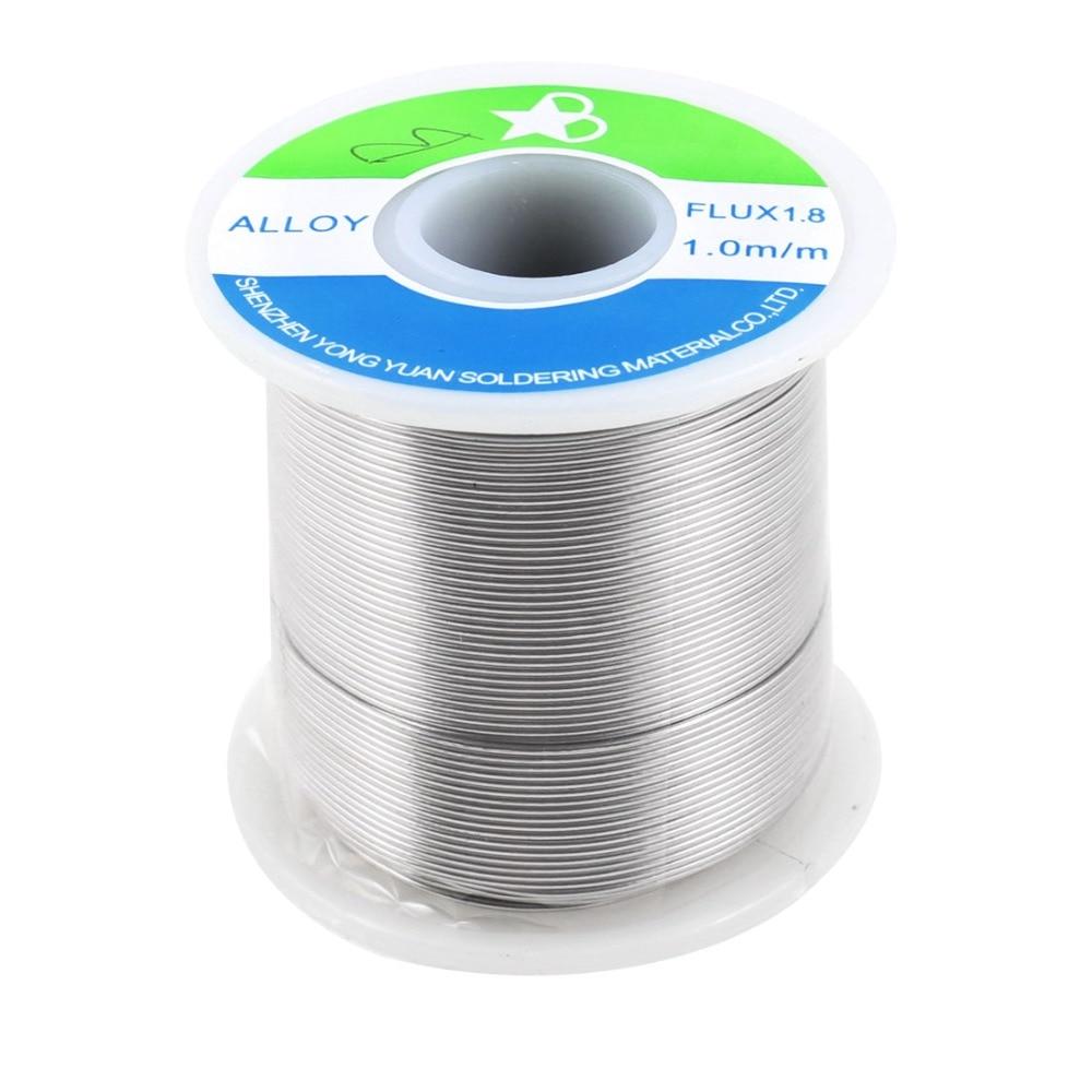 1mm 750g 63/37 Tin Lead Roll Melt Solder Soldering Wire Welding Reel Spool Rosin Core Flux 1.8%  цены