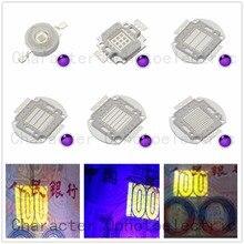 цена на 3W 5W10W 20W 30W 50W 100W 45MIL LED UV 365nm 380nm 395nm 400nm 410nm LED Ultra Violet light