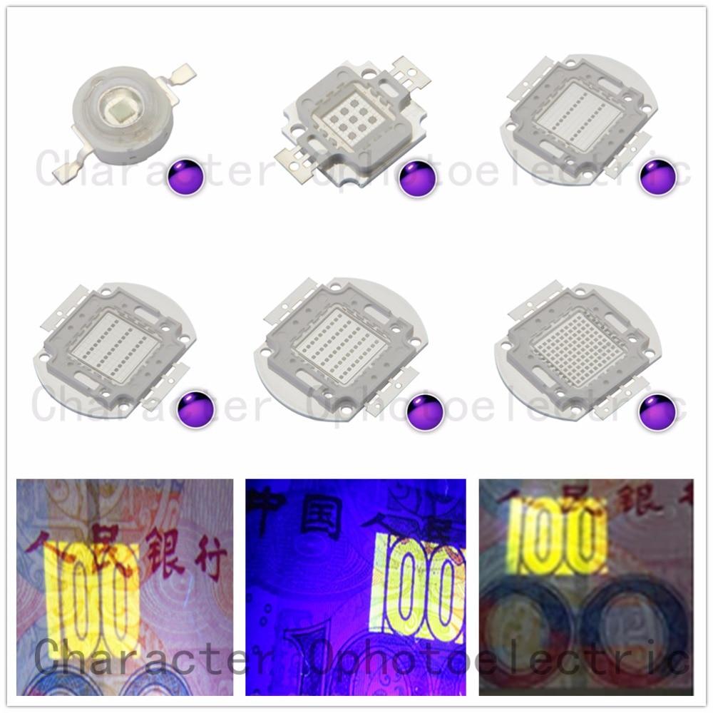 3W 5W10W 20W 30W 50W 100W 45MIL <font><b>LED</b></font> <font><b>UV</b></font> 365nm <font><b>380nm</b></font> 395nm 400nm 410nm <font><b>LED</b></font> Ultra Violet light
