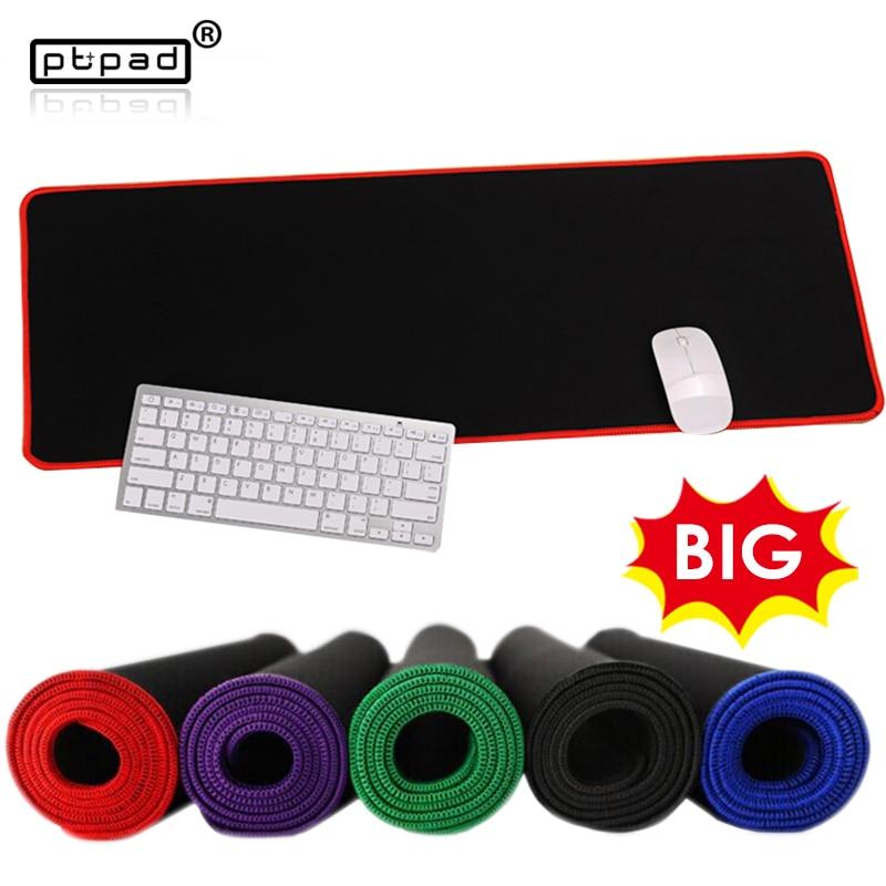 grote snelheid versie XL kantoor muismat zwarte mat 30 * 25/80 * 30/80 * 40/90 * 40cm laptop gaming tafel pads toetsenbord matten