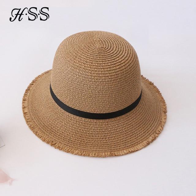 Hss marca mujeres del verano cúpula dom sombrero grande a lo largo de los  sombreros de ... b3121c9d3a0
