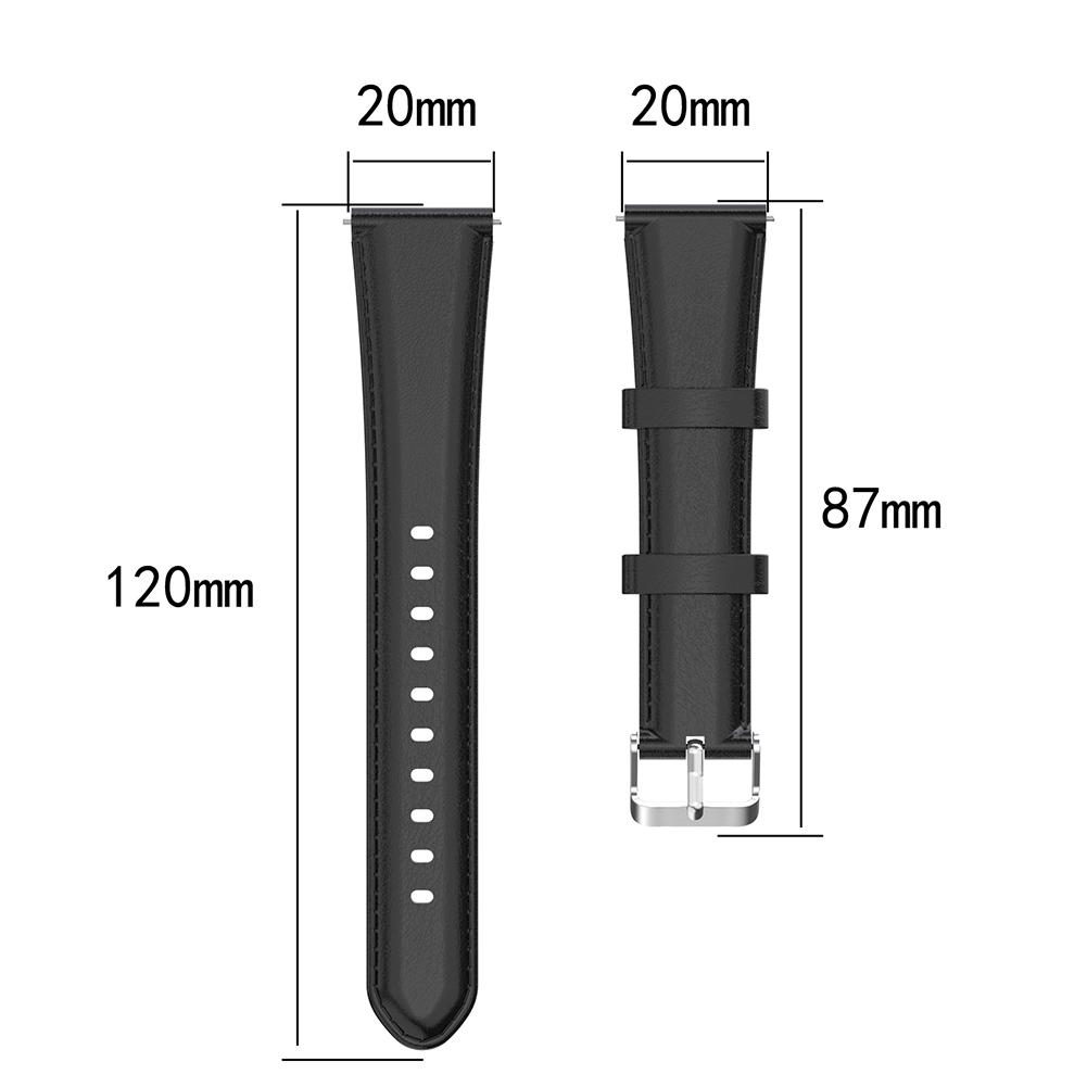 Image 5 - New Soft Replacement Strap Suitable For Forerunner 245 Oil Wax Leather Strap Beautiful And Comfortable Durable Wrist Strap-in Smart Accessories from Consumer Electronics