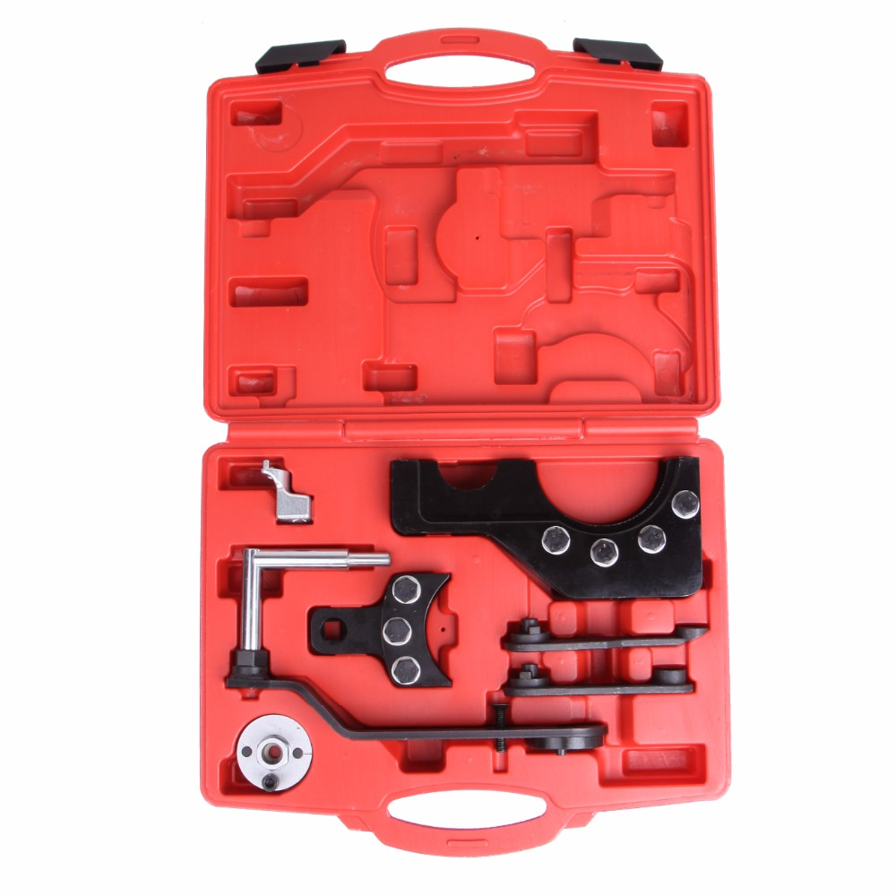 (Ship From DE) Engine Camshaft Timing Tool Kit For VW T5 Touareg 2.5 4.9 Timing Belt T10193 T10199 T10226 engine camshaft alignment timing tool kit for audi vw 2 0l fsi tfsi