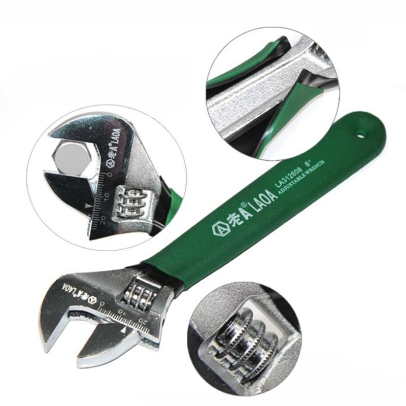 LAOA Cu cheie de reglare a cheii reglabile antiderapante cu cheie - Unelte de mana - Fotografie 2