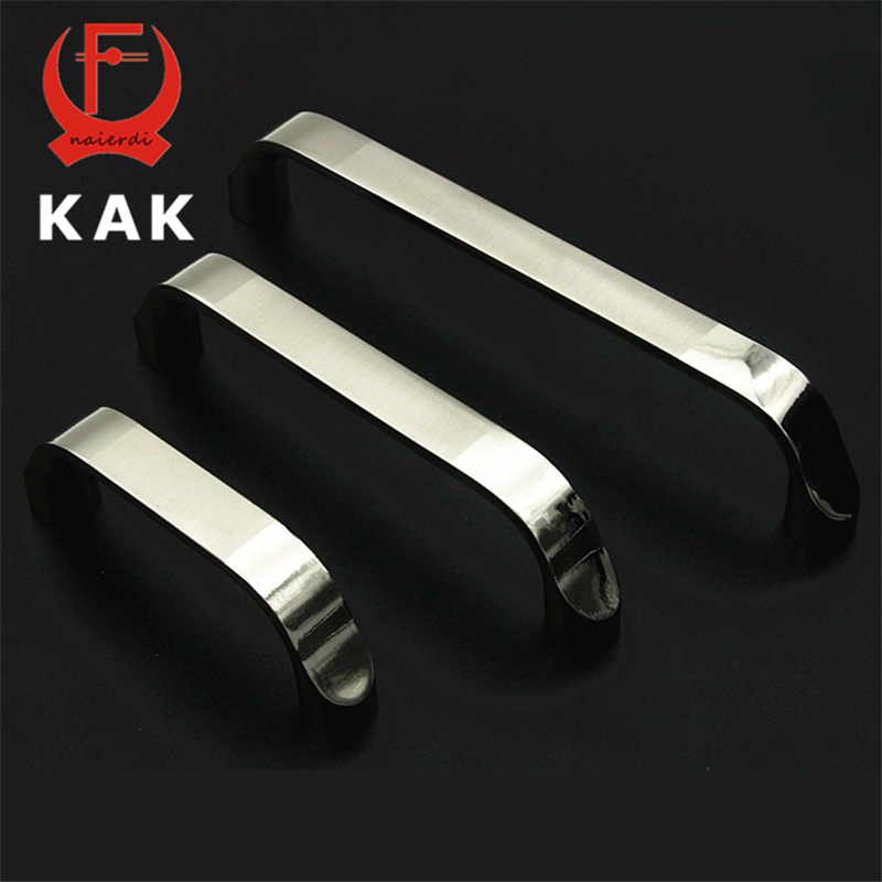 KAK Classical Cabinet Door Handles Zinc Alloy Handles Drawer Wardrobe Pull Handles Knobs 64mm 96mm 128mm Hole Distance simple modern door handle drawer cabinet pull wardrobe knobs brush finish gold and silver handles single hole 96 128mm
