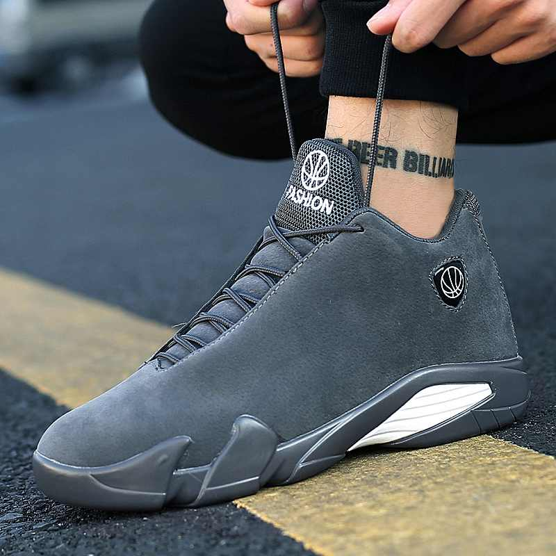 Weweya 2019 Newest Men's Basketball Shoes Air Sole Breathable Sneakers Black Gray Cool Gym Shoes Zapatos Hombre Super Star Ball