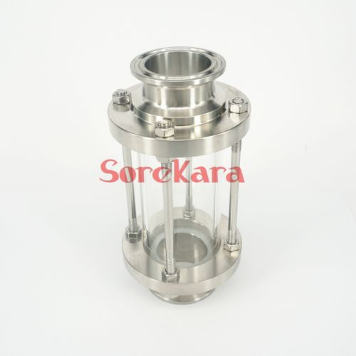 Fit 102mm Pipe OD 4 Tri Clamp SS304 Sanitary Flow Sight Glass Dipoter Homebrew 3 4 19mm new sanitary butterfly valve ss304 tri clamp beer dairy product