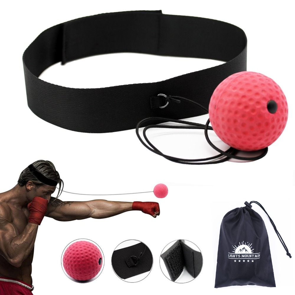 все цены на Boxing Reflex Speed Punch Ball Training Hand Eye Coordination with Headband Improve Reaction Muay Thai Gym Exercise Equipment