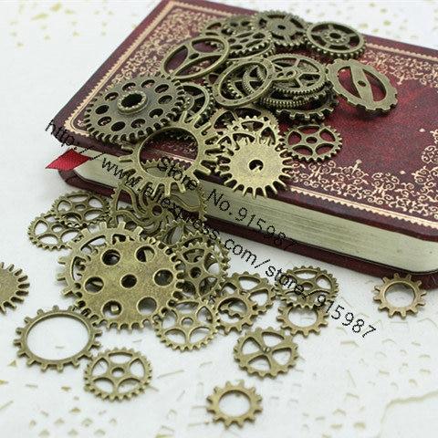 Милая подвеска-колокольчик в ассортименте, 50 шт., четыре цвета, подвеска, античная бронза, подходит для браслетов, ожерелий, сделай сам, изгот...