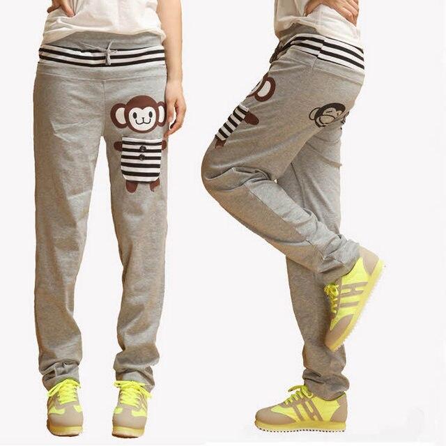 #0805 2017 Sweatpants women Joggers Hip hop women Cargo pants femme trousers women Loose Casual Harem pants Pantalon femme