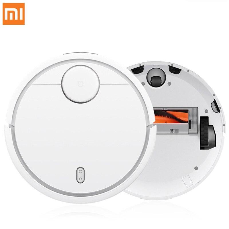 Оригинальный XIAOMI Mijia Ми робот пылесос для дома автоматическая Уборка Пыли стерилизовать Smart планируется мобильное приложение Remote Управлени...