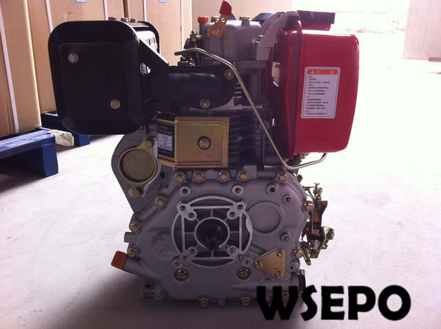 US $348 0 |Factory Direct Supply! WSE 188F 10hp 456cc Air Cooled Diesel  Engine with Single Cylinder for Generator/Pump/Farm Tiller/Boat-in  Generator