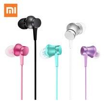 Xiaomi Mi Piston Earphone In Ear Headset Aluminum Alloy sound chamber Music Stereo for smartphone xiomi