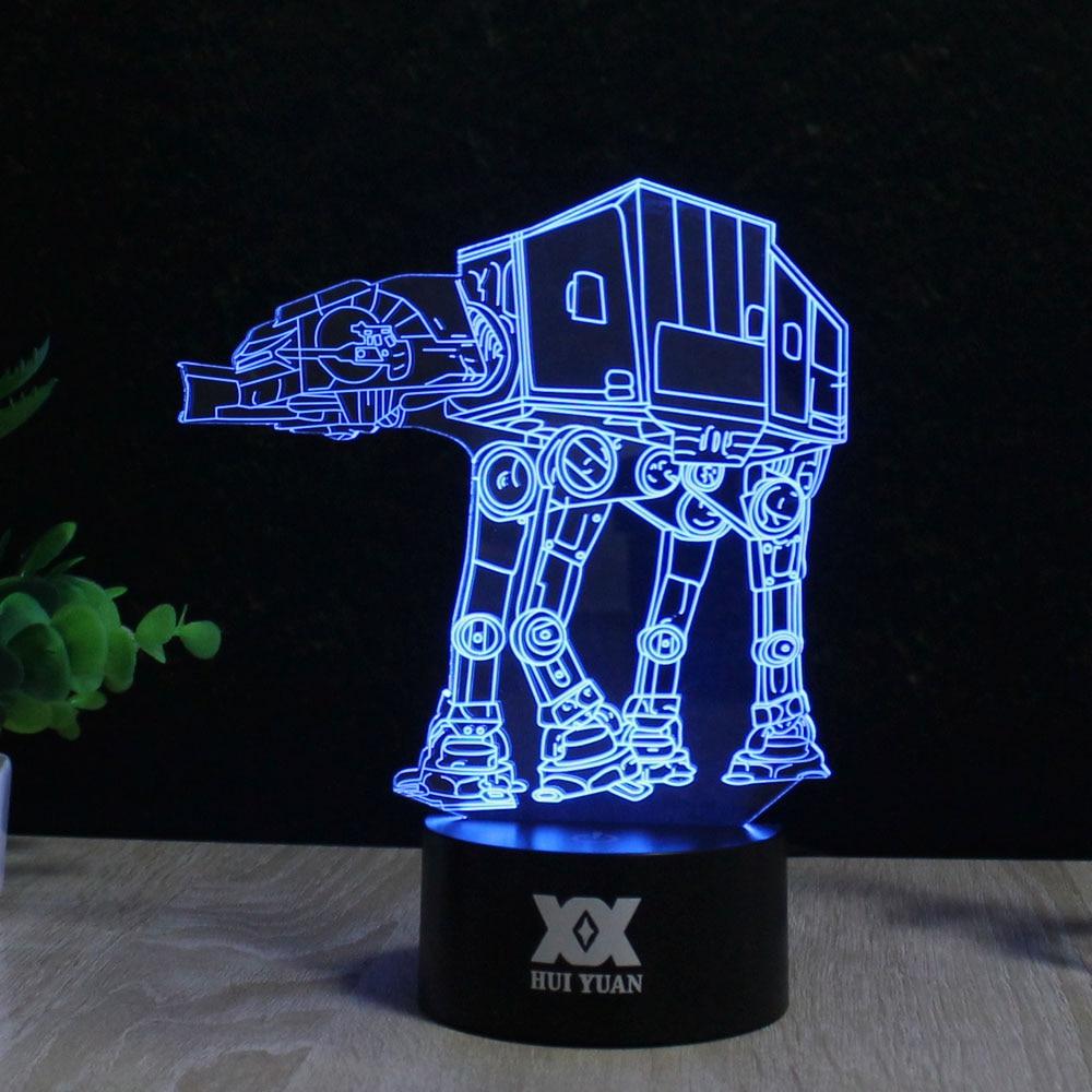 Star Wars BB-8 3D Lampe LED Neuheit Nachtlichter USB Urlaub Licht - Nachtlichter - Foto 4