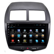 NaviTopia 10.2inch 1024*600 Quad Core Android 4.4/6.0 Car Radio Multimedia Video for Mitsubishi ASX 2010-2015,No DVD CD Player