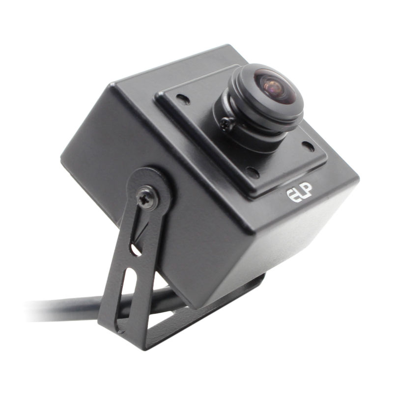 5.0Megapixel 2592x1944 Aptina MI5100 CMOS usb camera module security wide angle CCTV box camera 180 degree fisheye lens