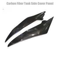 Carbon Fiber Tank Side Cover Panel Fairing For Yamaha YZF R6 2008 2015 2009 10 11 12 13 14 Black