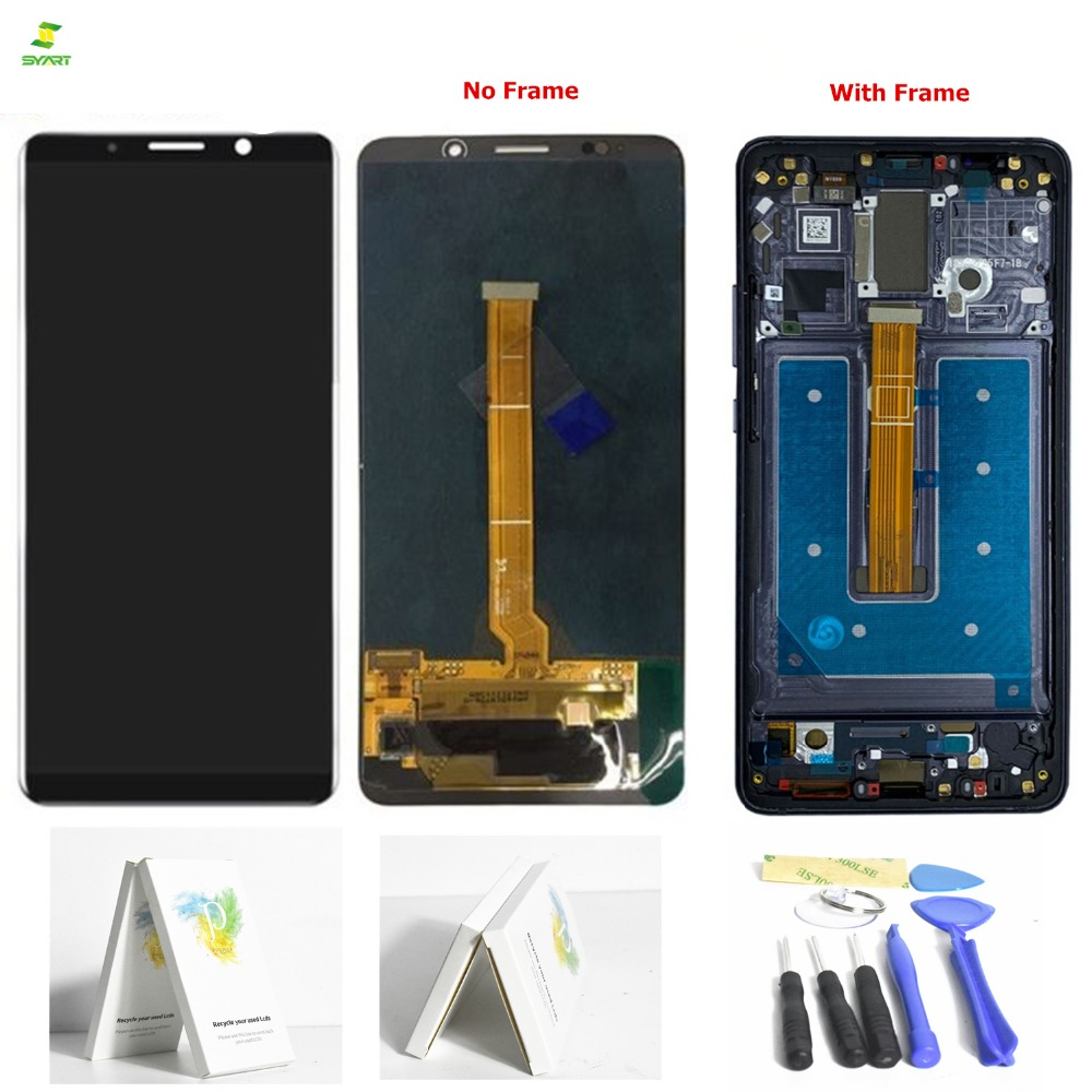 Grade AAA 6.0 'Lcd Compagno 10 Pro Per Huawei Mate 10 Pro Display LCD Per Huawei Mate 10 Pro LCD Touch Screen Digitizer Assembly