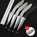 AKC 9″ INCH Classical knife ox horn hilt leverletto Plus mannequin Godfather Stiletto D2 metal blade survival out of doors tenting knives HTB1igBzxpmWBuNjSspdq6zugXXaC