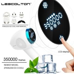 Image 5 - Lescolton Icecool IPL epilatör kadınlar için kalıcı lazer epilasyon LCD ekran Depilador bir lazer Bikini giyotin fotoepilator