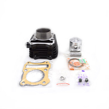2sets/lot High Quality Motorcycle Cylinder Kit For Suzuki GN125 GS125 GN GS 125 125cc Engine Spare Parts