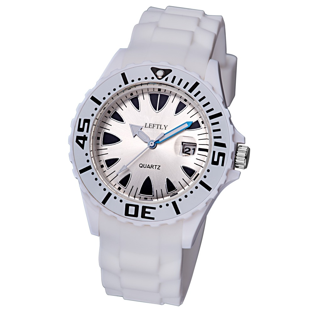 Children Quartz Watch Luminous Pointer Date Magnifier Display Silicone Strap Wristwatch hoska hd030b children quartz digital watch