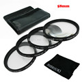 RISE(UK) 58MM Close Up +1+2+4+10 Macro Lens set for Canon SONY NIKON all Camera + Cleaning cloth free