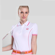 Winter Golf Shirts 2017 Camisetas Mujer Polo Golf Shirts Pgm Miss Gao Erfu New Clothing Short-sleeved T-shirt Bottoming Shirt