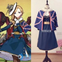 Game Azur Lane Cosplay Hood cosplay costume