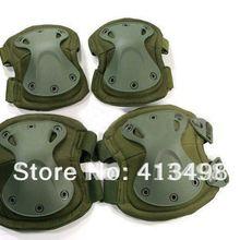 Трансформаторы прочные наколенники и налокотники протектор колодки Установить Зеленый