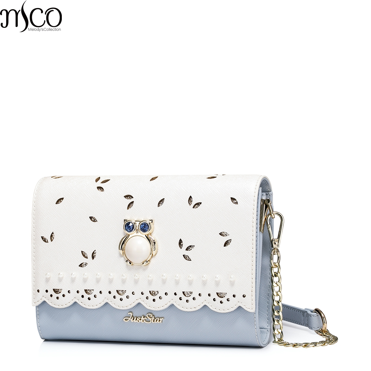 2017 Summer Luxury Diamonds Owl Small Clutch Bags For Women Elegant Hollow Out OL Messenger Shoulder