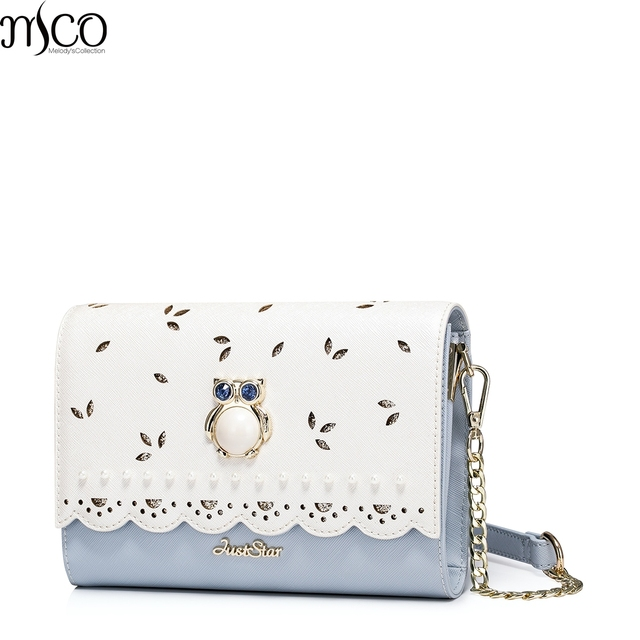 2017 Summer Luxury Diamonds Owl Small Clutch Bags For Women Elegant Hollow Out OL Messenger Shoulder Bags Flap Envolope HandBag