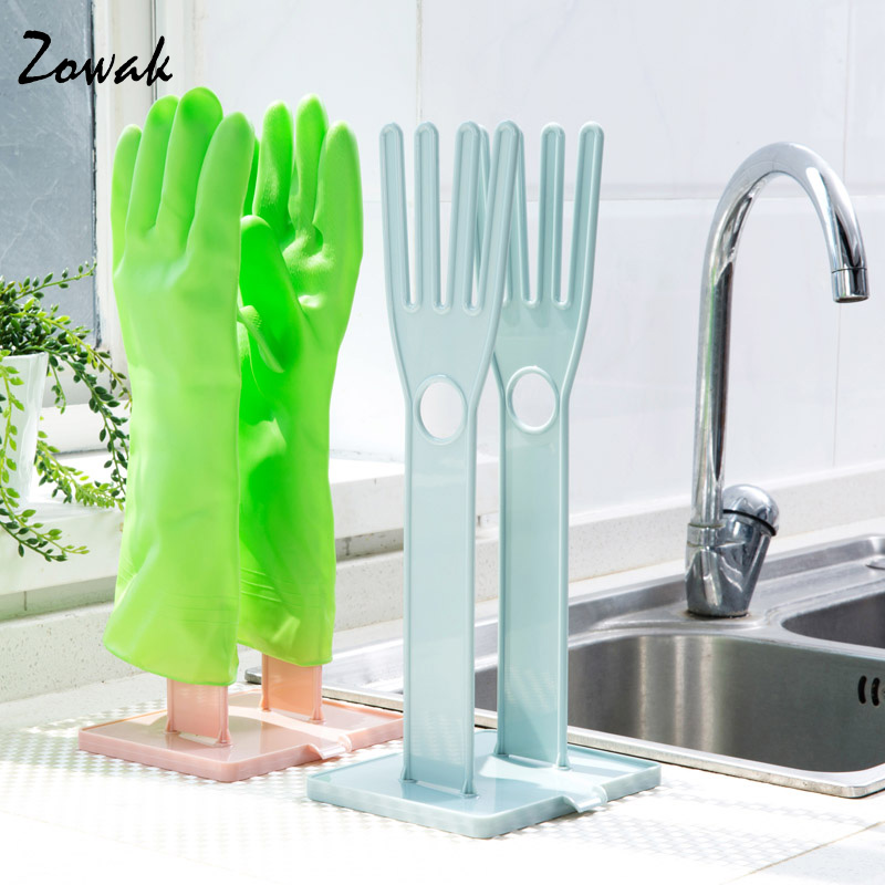 Glove Rack Drying Drain Water Gloves Stand Holder Dish Kitchen Tools Household Gloves Drying Accessories Rack Storage Plastic