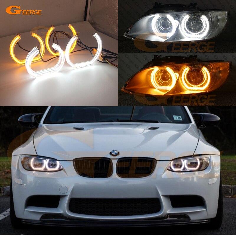 For BMW 3 Series E90 E92 E93 M3 Coupe cabriolet 2007 2013 DTM Style LED Angel