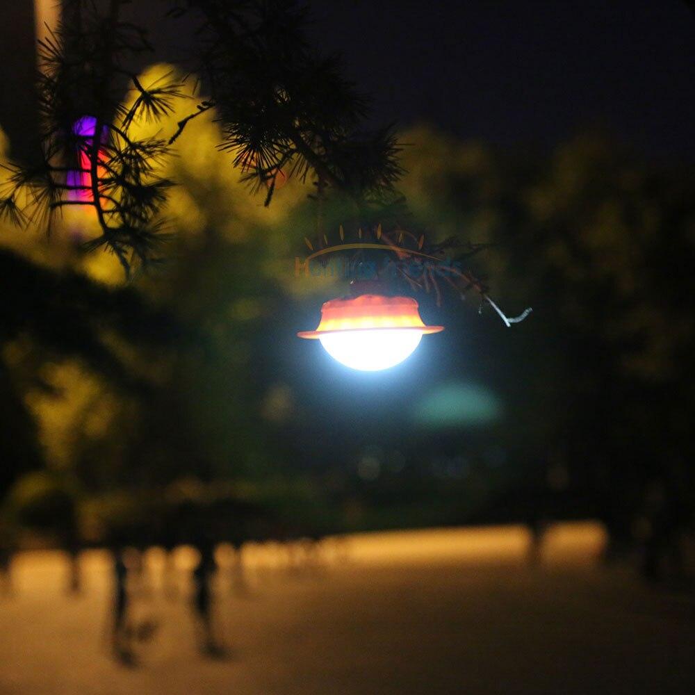 Libre Tente 3LED Cap monté lumière clip-on lampe