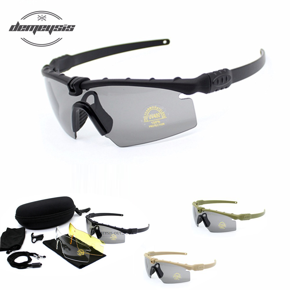 Tactical Polarized Goggles Men Outdoor Sunglasses Military Airsoft War Game Glasses Hunting Hiking Polarized Glasses