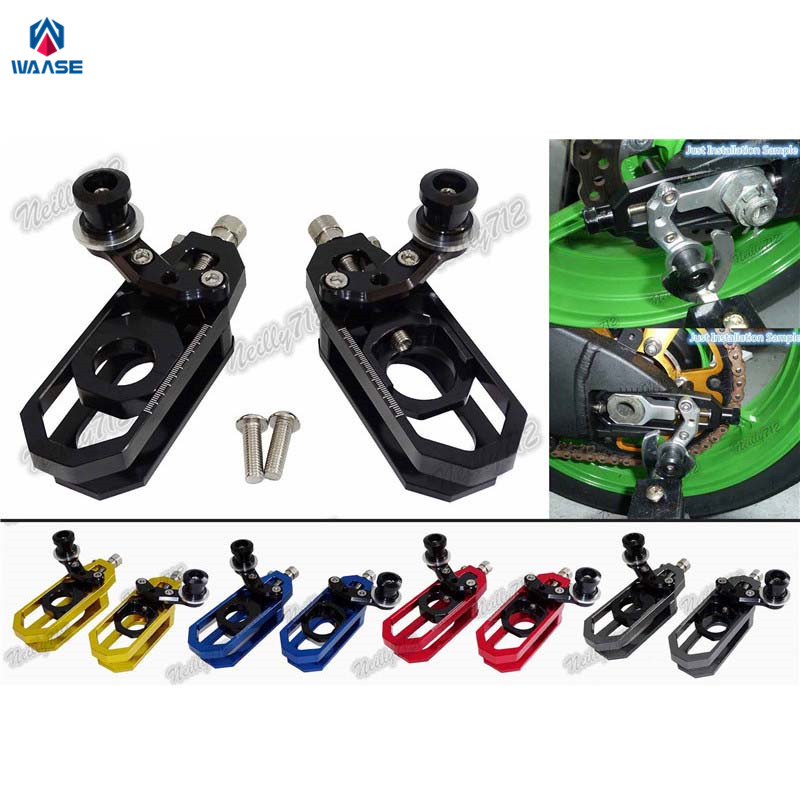 waase Chain Adjusters with Spool Tensioners Catena For Yamaha YZF R6 2006 2007 2008 2009 2010 2011 2012 2013 2014 2015 2016 waase motorcycle engine crash pads frame sliders protector for yamaha yzf r6 2008 2009 2010 2011 2012 2013 2014 2015 2016 2017 page 4 page 2