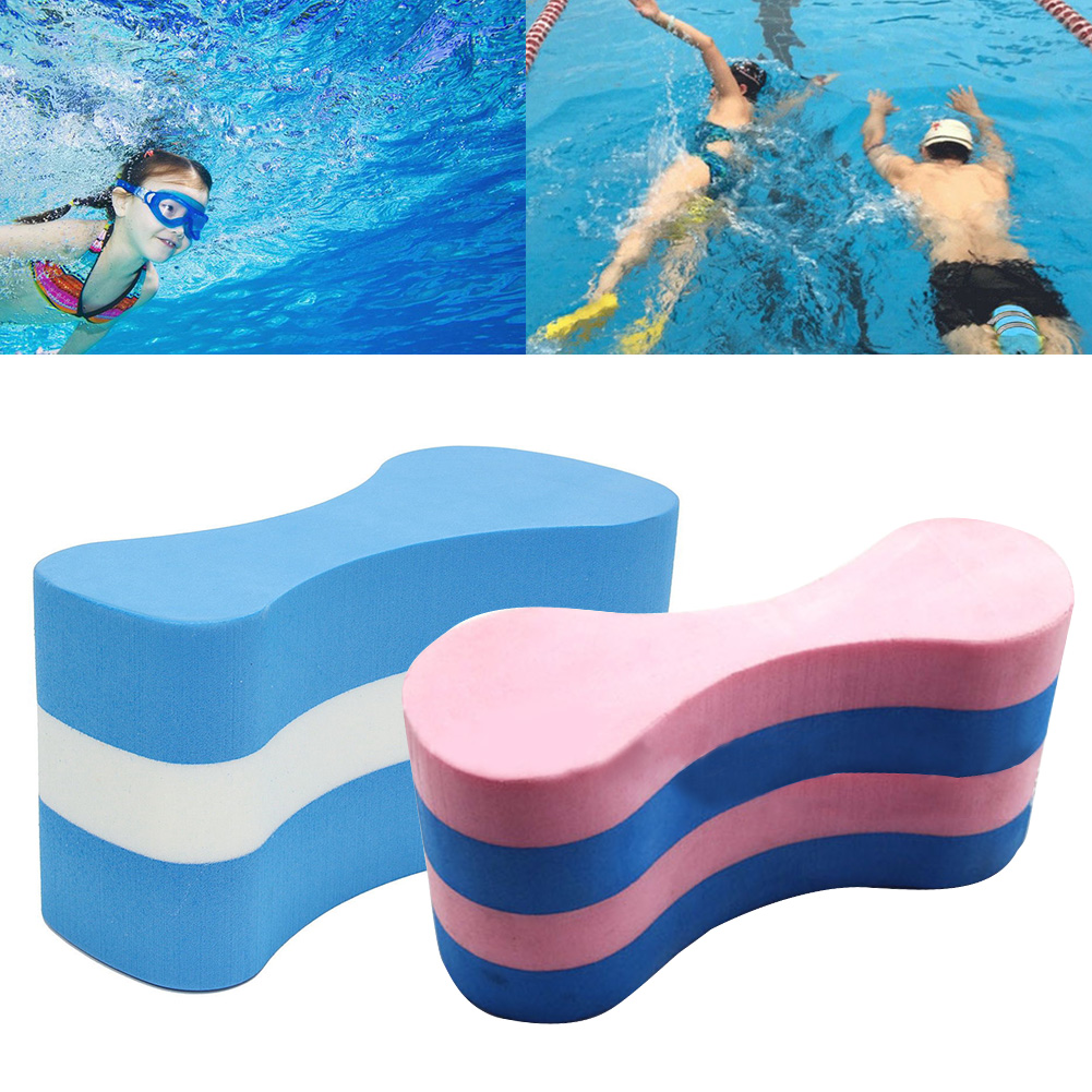Foam Pull Buoy Float Kickboard Swimming Pool Swimming Safety Aid Kits Soft EVA Foam For Kids Adult Children Training Aid