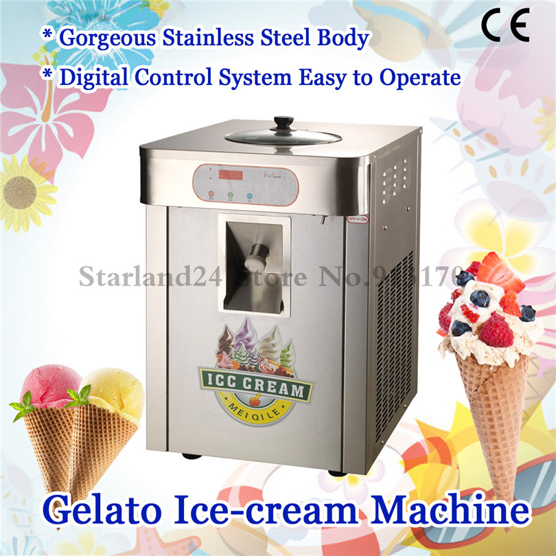 Hard Ice Cream Machine Stainless Steel Gelato Maker Production Yield 18 liters/H Countertop Type determinants of yield performance in small scale catfish production