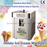 Hard Ice Cream Machine Stainless Steel Gelato Maker Production Yield 18 liters/H Countertop Type