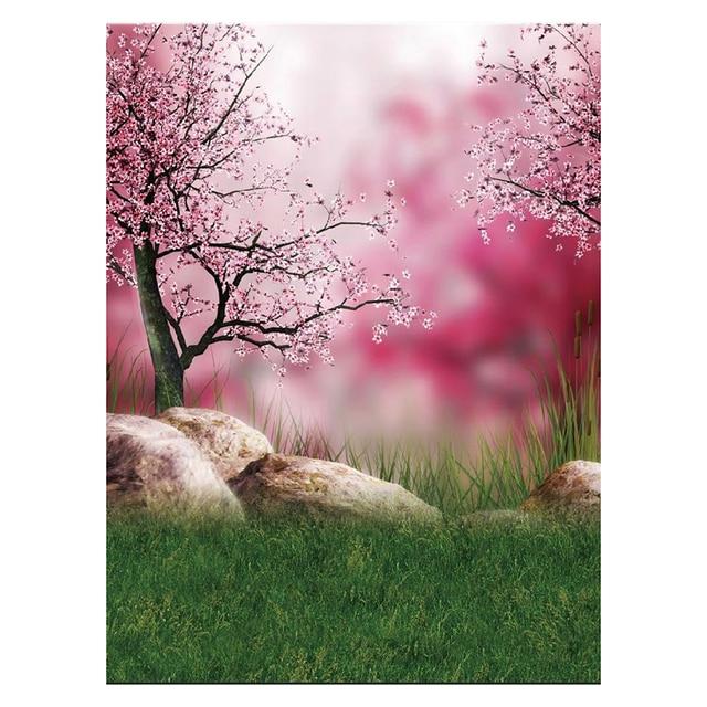 5x7ft estdio de fotografia vinil fino pano de fundo flores rosa do fundo da foto
