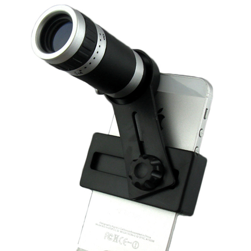 Orbmart 8X Zoom Teleskop Lensa Kamera Telephoto untuk iPhone 5 5 S 6 6 S Plus Samsung S6 S5 S4 galaksi Note 4 Xiaomi HTC Seluler Telepon-Internasional